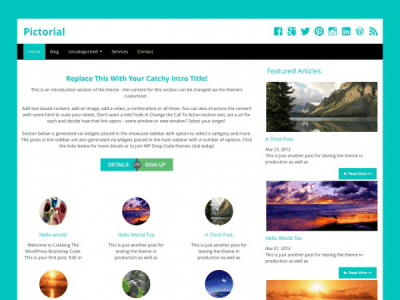 Pictorial WordPress Theme