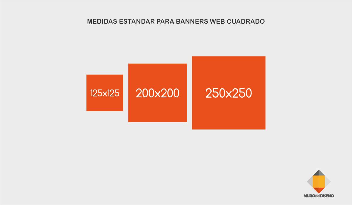 Muro del dise o medidas est ndar para banners web - Medidas de baneras estandar ...
