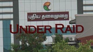 Sudden Raid In Puthiya Thalaimurai Tv Channel 18-06-2013