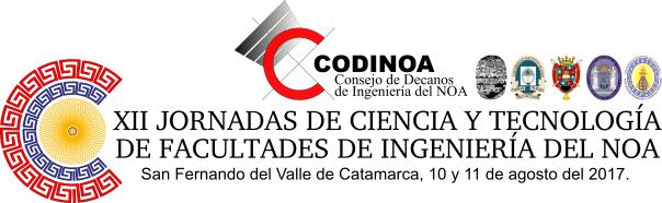 XII Jornadas de Ciencia y Tecnología de Facultades de Ingeniería del NOA