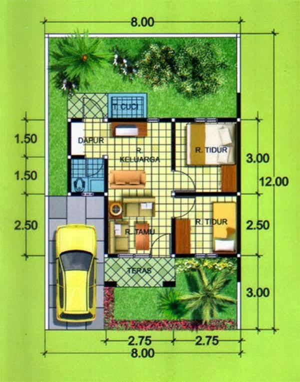 Rumah minimalis Type 36 10