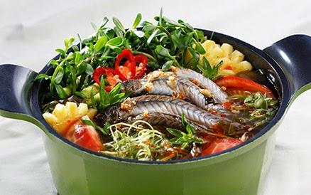 Hướng dẫn nấu lẩu cá kèo lá giang