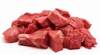 Penyebab Kolesterol, Daging Sapi