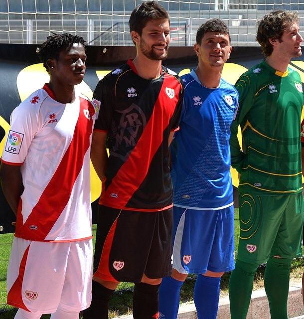 كرة قدم حصري : أزياء فرق الدوري الاسباني لموسم 2012 - 2013 aNew-Rayo-Vallecano-