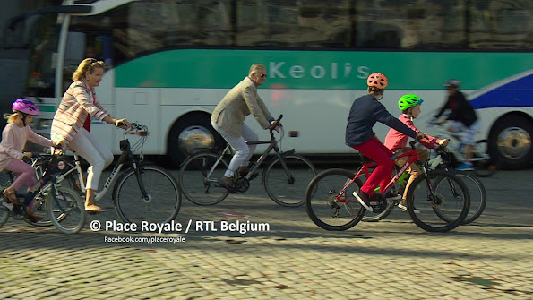 Queen Mathilde of Belgium and King Philippe-Filip of Belgium, Crown Princess Elisabeth, Prince Emmanuel, Princess Eleonore, Prince Gabriel