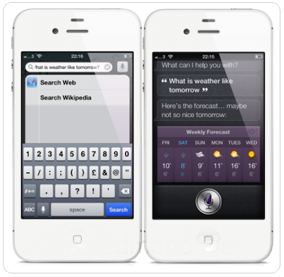 Spotlight on Siri iPhone