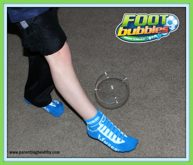 bubbles on foot #11