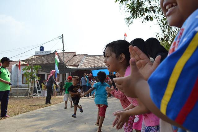 Meriahnya HUT RI Ke - 70 di Jakarta