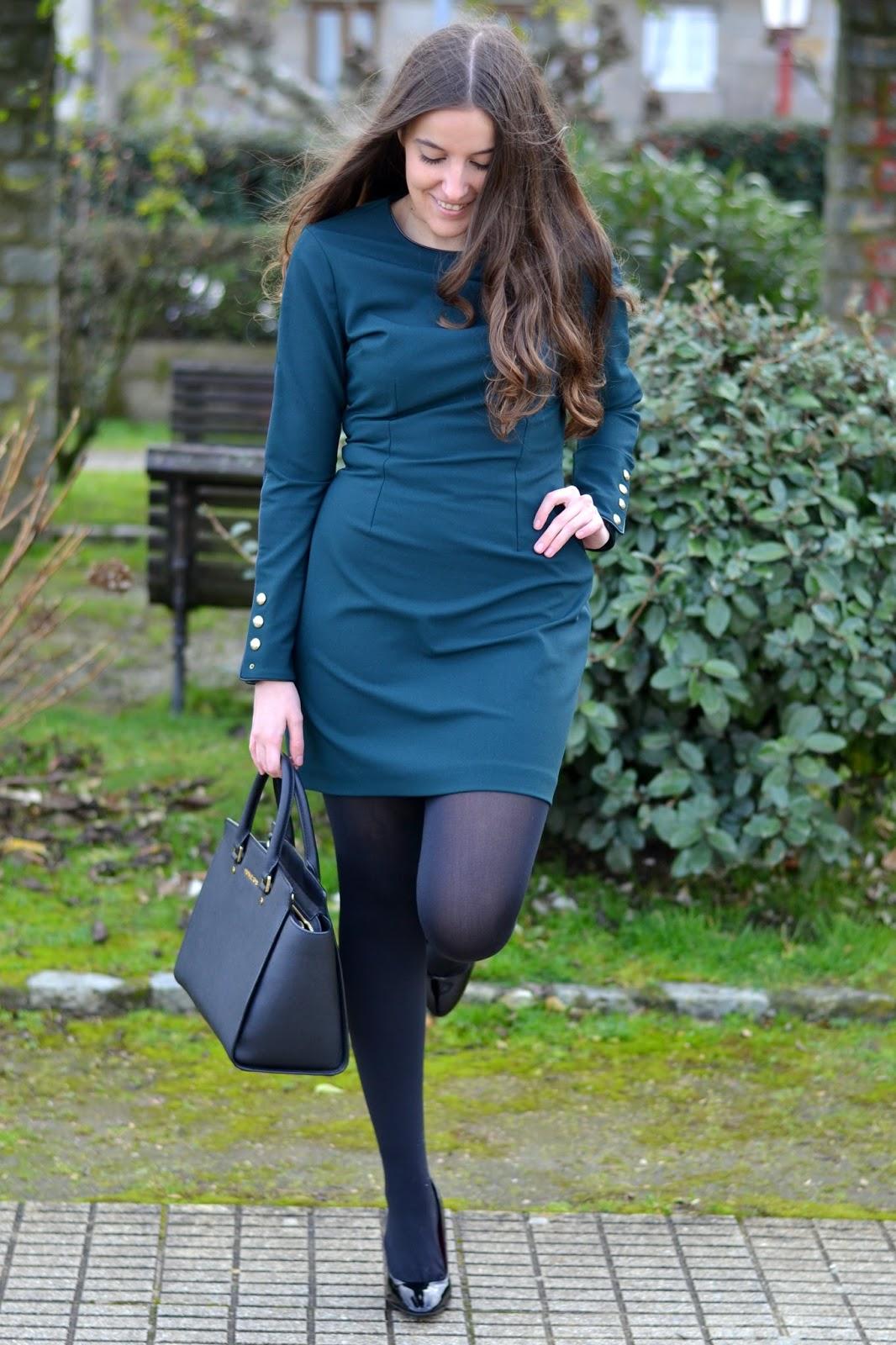 vestido y zapatos de zara