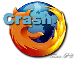 Mozilla Firefox-Crash