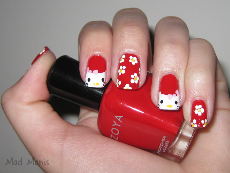 The Exciting 3d hello kitty nail designs Digital Imagery