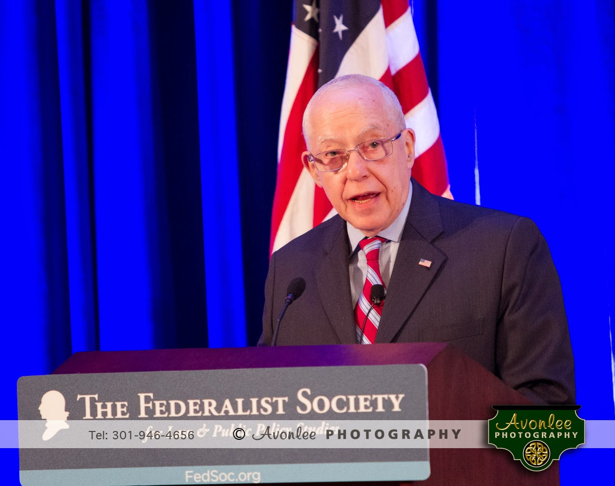 US Attorney General Michael Mukasey, 2014, National Lawyers Convention, Washington DC, Event Photographer