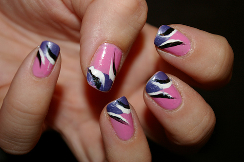 Fashion creative nail art designs - Easy nail designs you can do at home ...