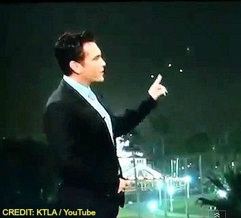 VIDEO - UFOs Gets Weatherman's Attention During Live Broadcast