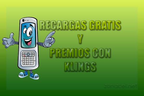 Recargas Telcel y Movistar Gratis con Klings