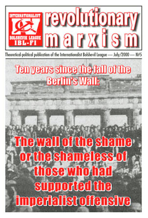 REVOLUTIONARY MARXISM