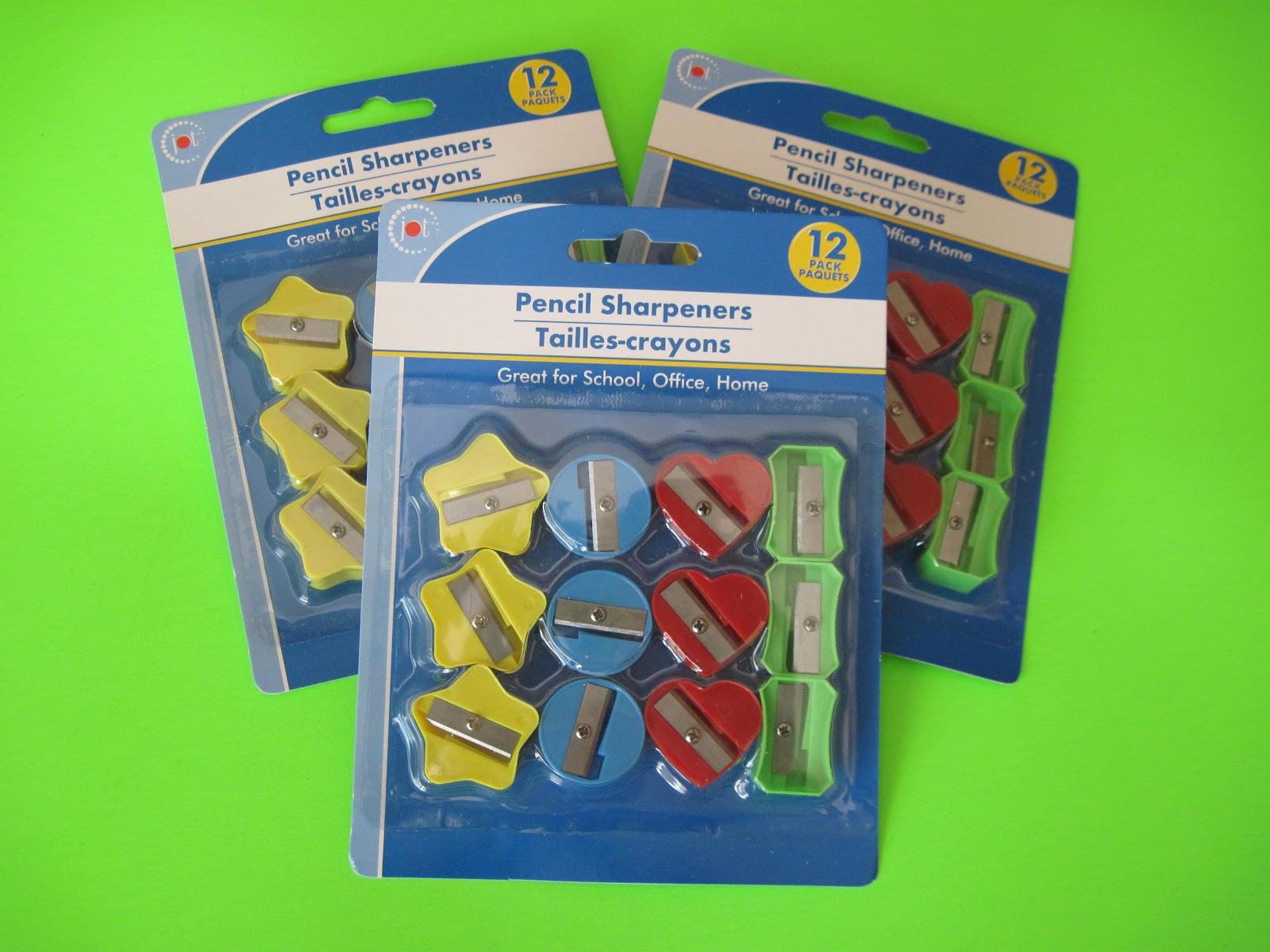 Dollar Tree Erasers and Pencil Sharpeners   StewardShop