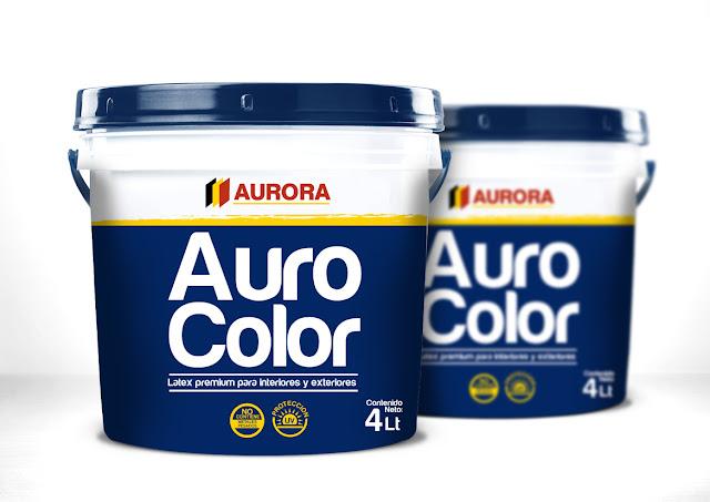 Packaging Pinturas Aurora