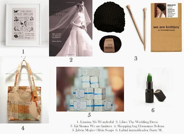 6 regalos originales mujeres bodas reyes magos cumpleaños
