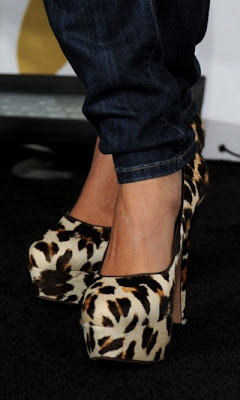monica prada leopard print shoes