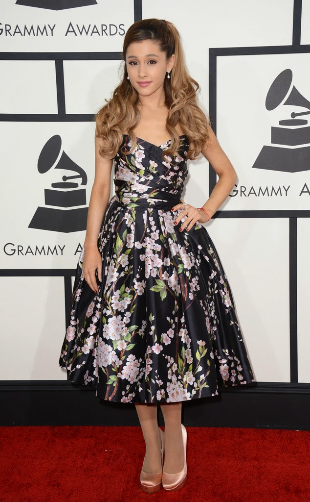 Ariana Grande, Grammys Red Carpet