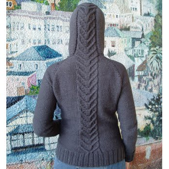 are the lovely Grownup Hoodie from Magpie patterns. I want one now