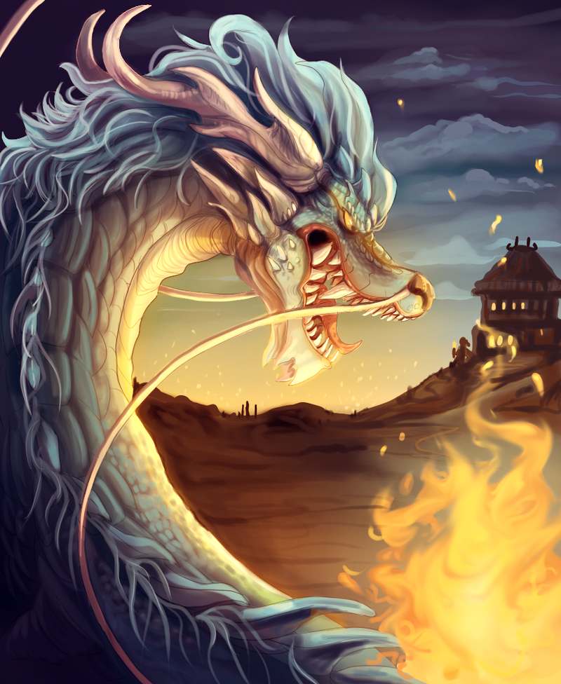 Firing Chinese Dragon