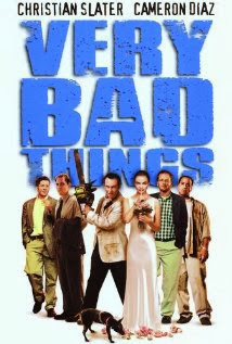 Daniel Stern Christian Slater Cameron Diaz Jon Favreau on Very Bad Things poster