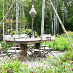Our review of the restaurant Earth at Hidden Pond, Maine