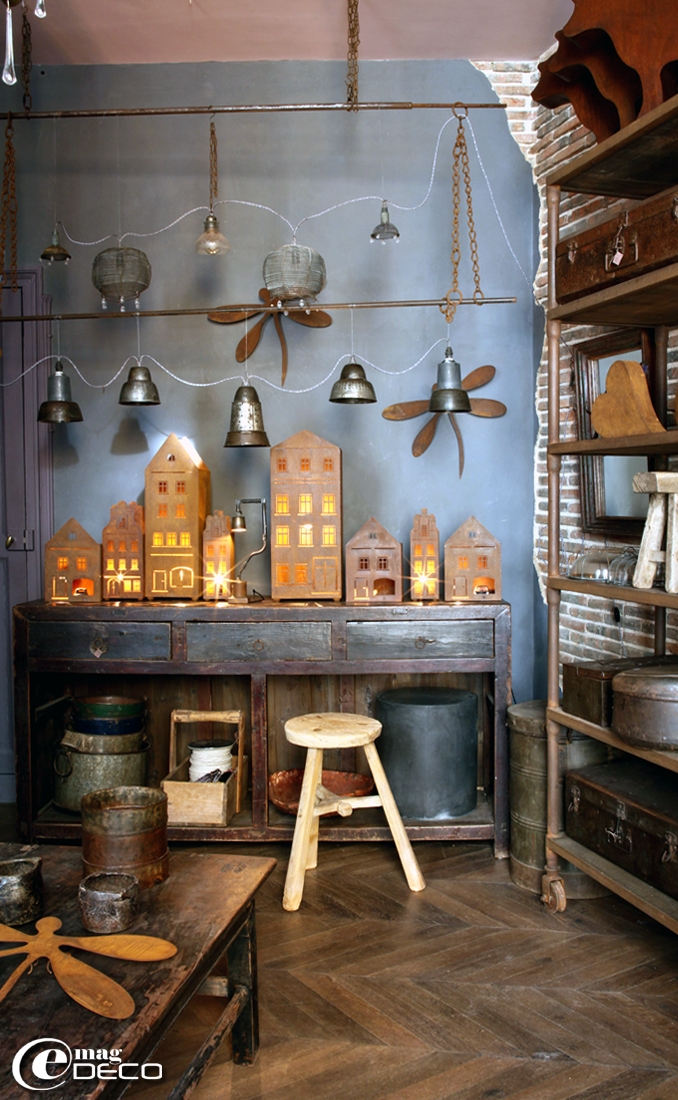 'Metamorphoses' shop in Bellême, a report of the magazine of decoration 'e-magDECO'
