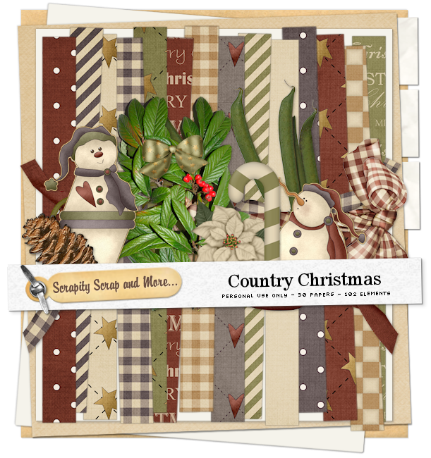 Scrapkit: Country Christmas