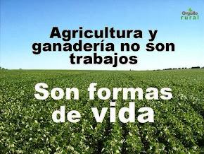 Agricultura y Ganadería Formas de Vida.