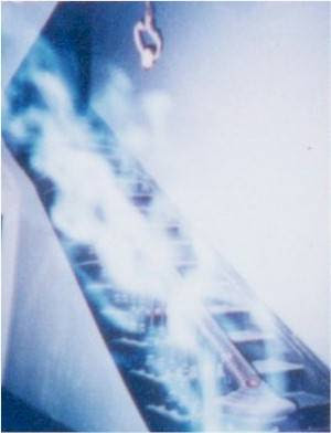 Real Ghost Photo: Spook on the Stairs
