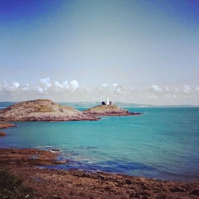 Welsh coastline