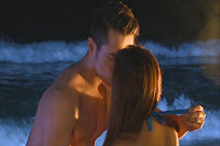 Jake and Iza beach love scene