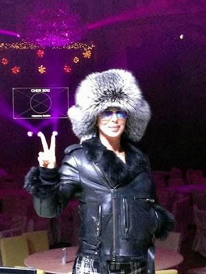 Cher in Russia