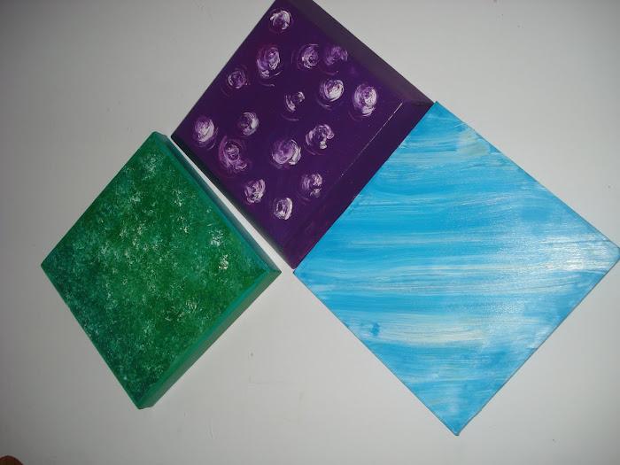 Colección pequeños y coloridos adtractos