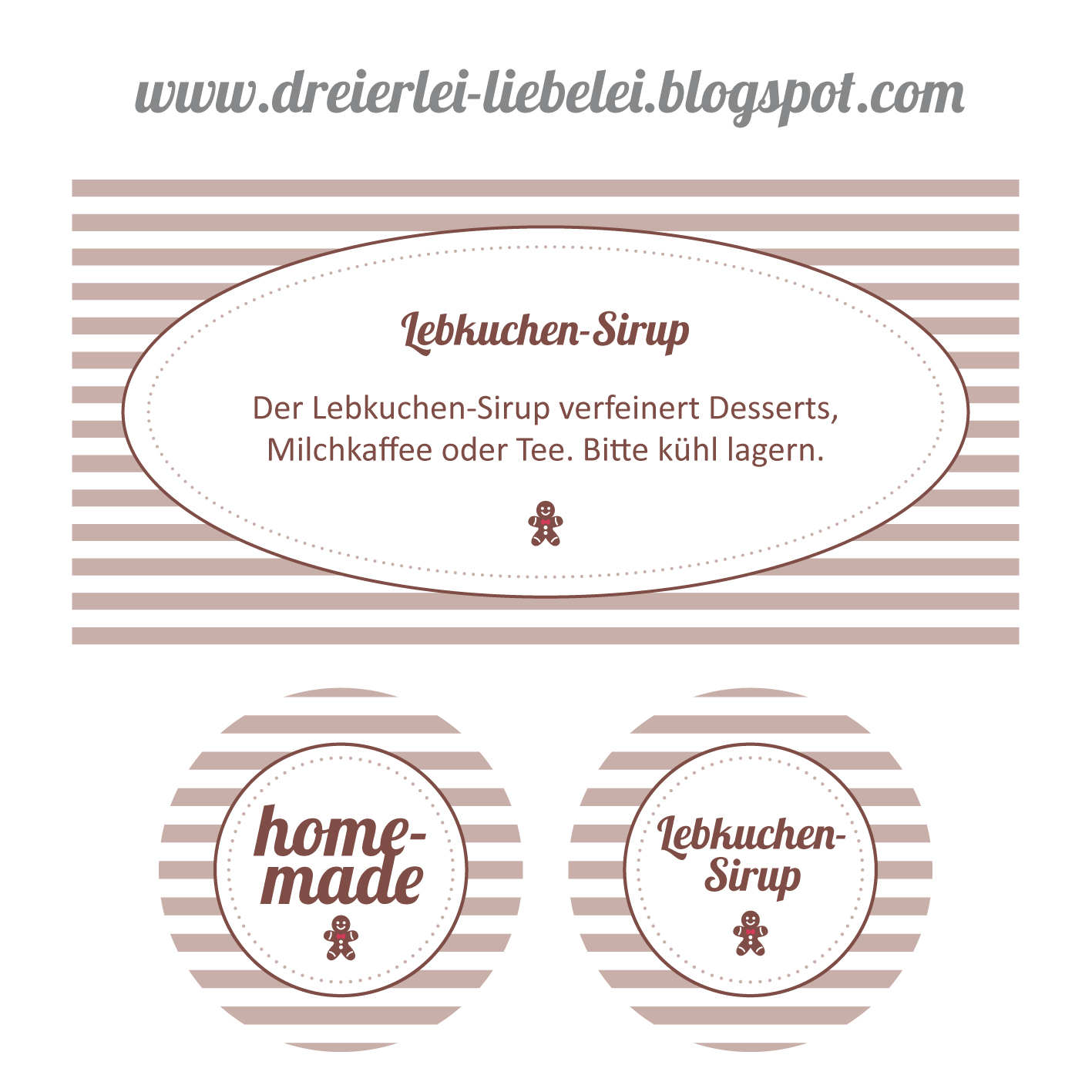 last minute selfmade weihnachtsgeschenk lebkuchen sirup inkl etiketten freebie dreierlei. Black Bedroom Furniture Sets. Home Design Ideas