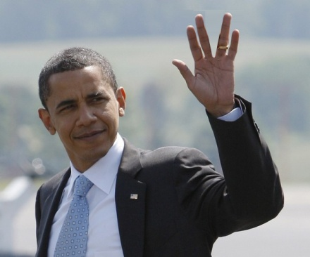 Another Illuminati Hand Sign of Barack Obama