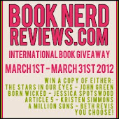 Book Nerd Reviews March 2012 Giveaway
