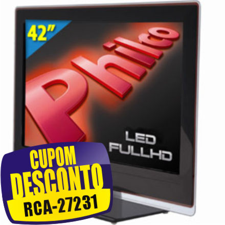 Cupom Efácil - TV 42 LED Full HD Philco PH42A