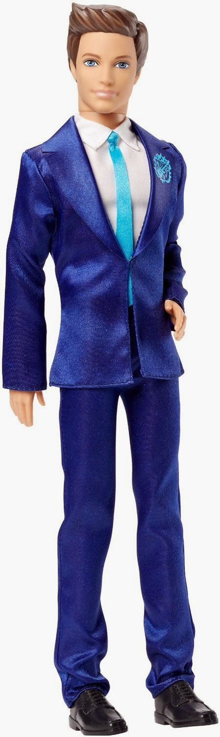 JUGUETES - Barbie in Rock'n Royals - Ken | Muñeco  Toys | Producto Oficial Película | Mattel CKB59 | A partir de 3 años
