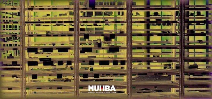 """Exposició """"Fabra i Coats fa museu.Muhba.Laboratori 3: objectes, paraules i imatges"""". 2014"""