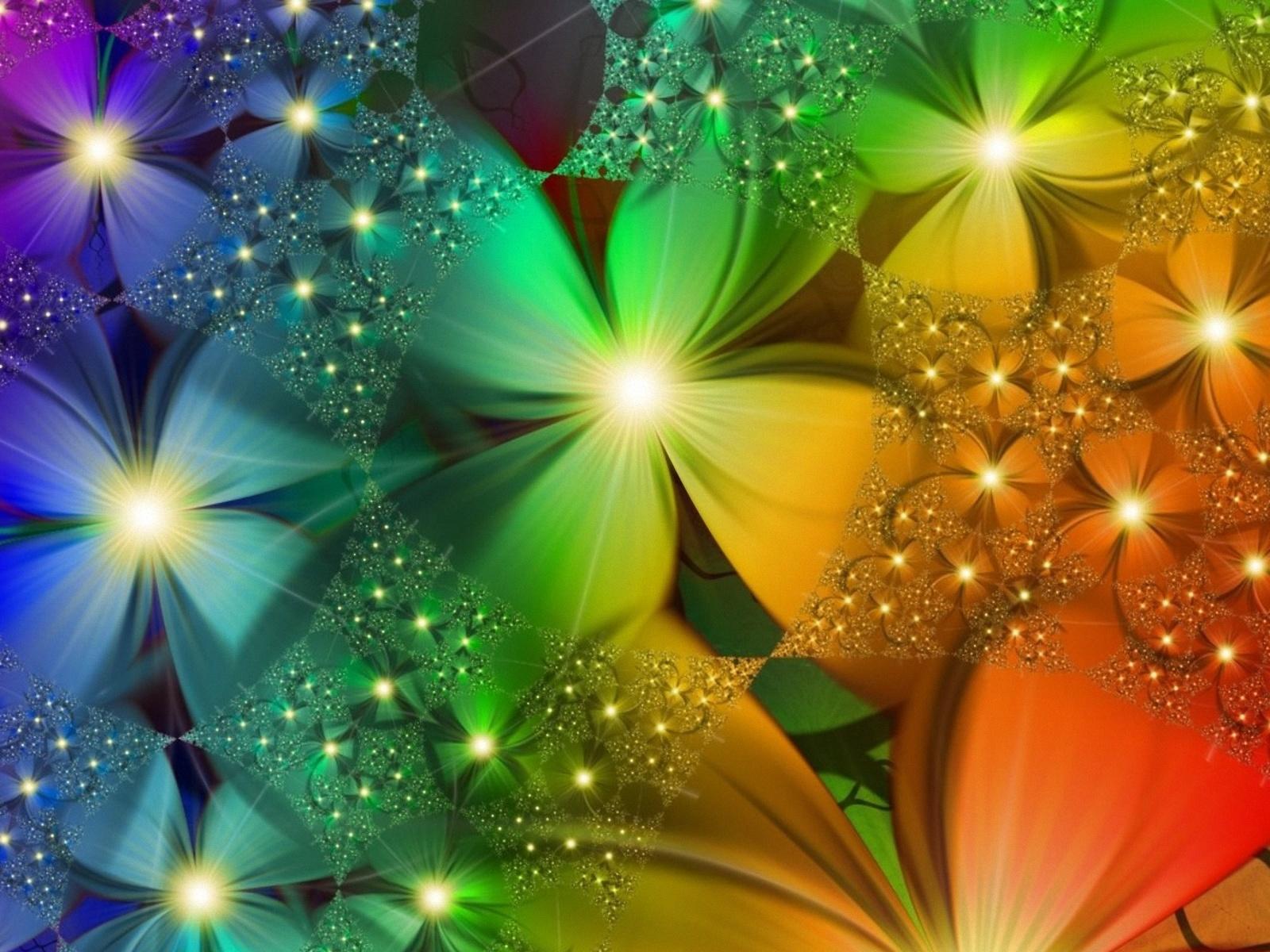 Fondo De Pantalla De Flores De Muchos Colores