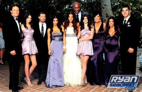 Kardashians Kardashian_Christmas_2009_Photo