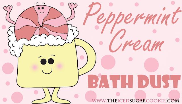 Peppermint Cream Bath Salts, Bath Soaks, Bath Fizzies, Bath Bombs