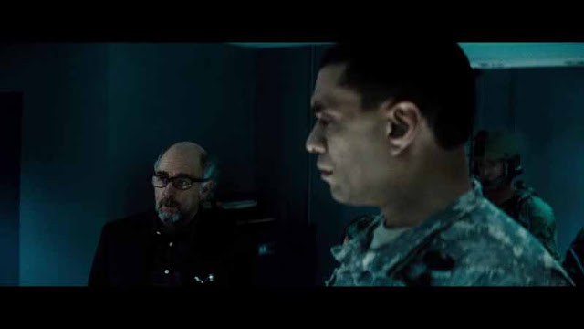 man of steel military interrogation Richard Schiff Dr Emil Hamilton