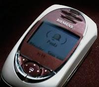 Campanha da Siemens em 2003 para apresentar o aparelho celular SL 55.