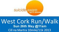 10 mile charity run near Macroom/Ballyvourney