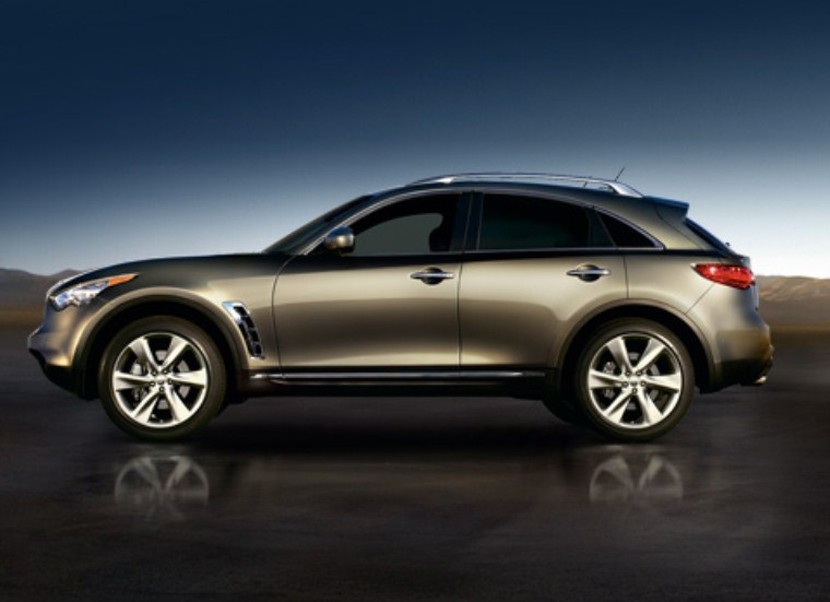 2014 Infiniti FX50 Images Gallery